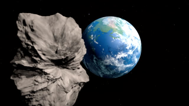 asteroid is going to collide with the earth video