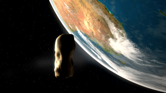 Asteroid Over Earth – Southern Hemisphere video