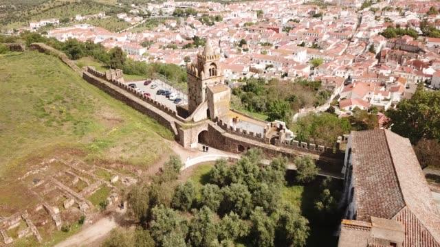 astle Montemor o Novo. The Alcaides palace ruins.