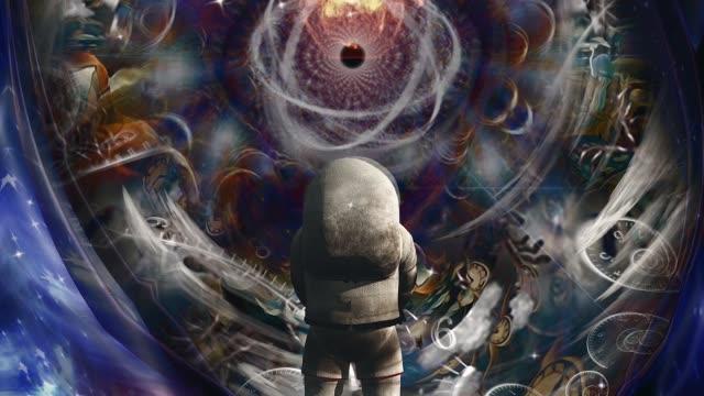 astronaut before atom - timeline стоковые видео и кадры b-roll