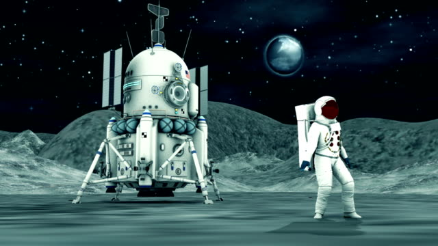 Astronaut Dancing On the Moon video