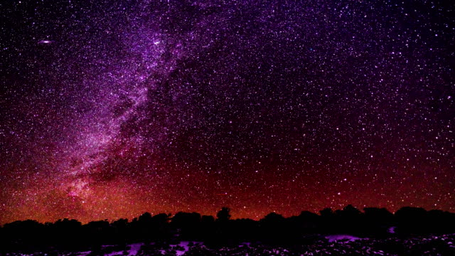Astrophotography Time Lapse Milky Way video