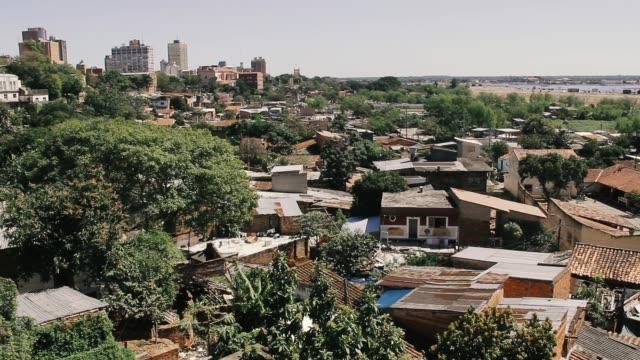 asuncion, capital of paraguay. - парагвай стоковые видео и кадры b-roll