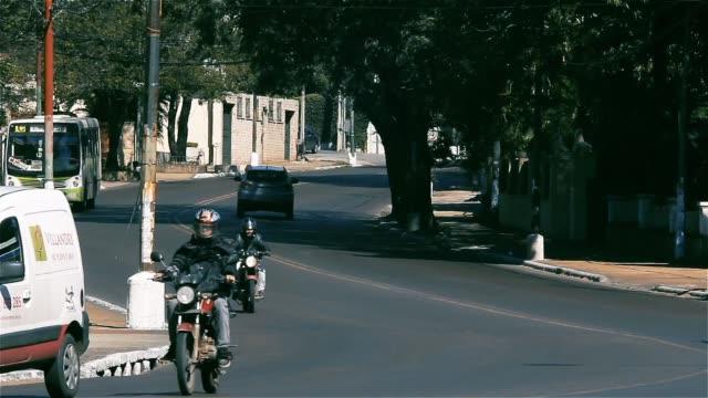 asuncion movement. traffic time lapse (paraguay). - парагвай стоковые видео и кадры b-roll
