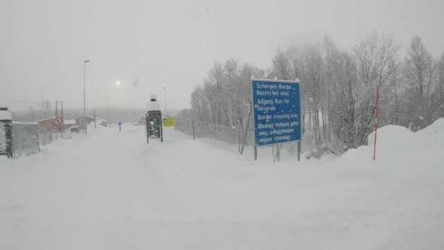 WS At the Norway-Russian border