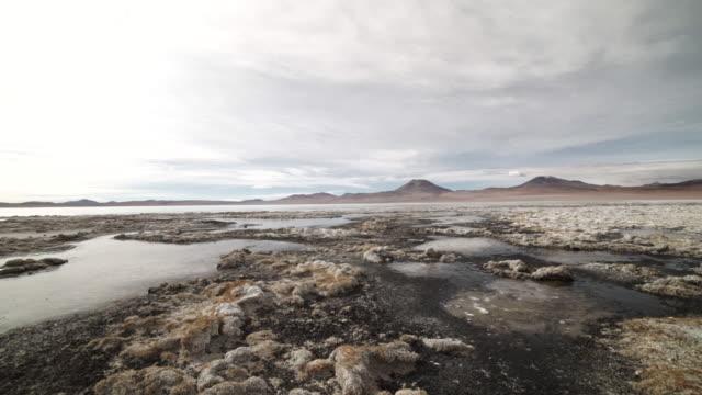 vidéos et rushes de atacama desert - bolivia - lac salé