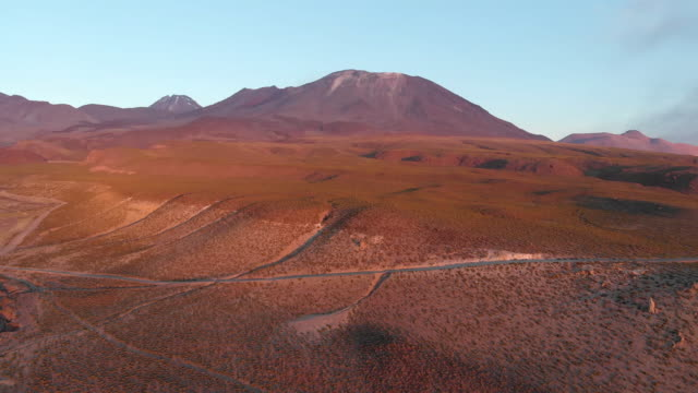 atacama çöl yanardağı - bakir yer stok videoları ve detay görüntü çekimi