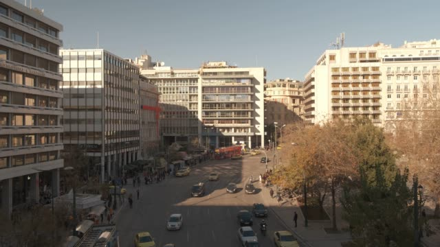Athens 4K footage - Syntagma square video