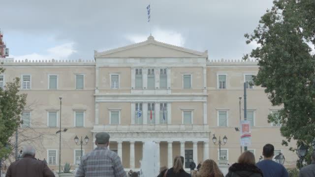 Athens 4K RAW footage - people at Syntagma square, Plaka, Ermou Street, Monastiraki, Greek Parliament - telephoto lense video