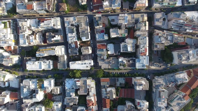 Athens aerial view video
