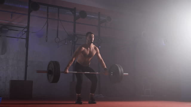 Athlete raises the bar with the weight video