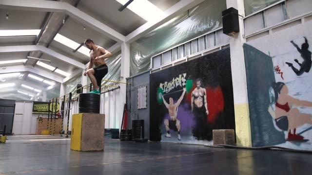 Athletic Jump Box Exercises