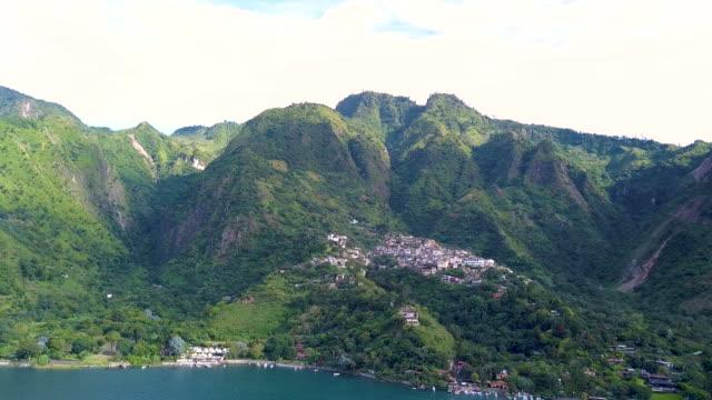 Atitlan Guatemala Mountain Aerial
