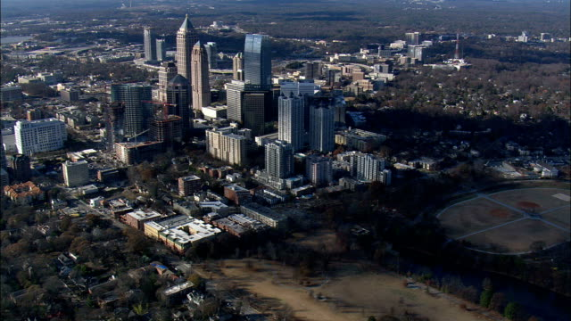 Atlanta east side - Aerial View - Georgia,  Fulton County,  United States