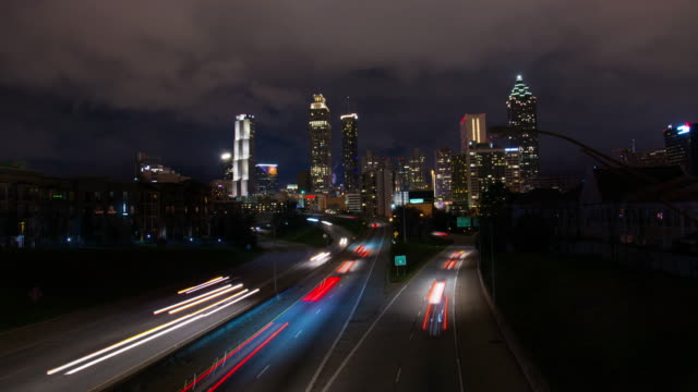 T/L Atlanta Skyline video