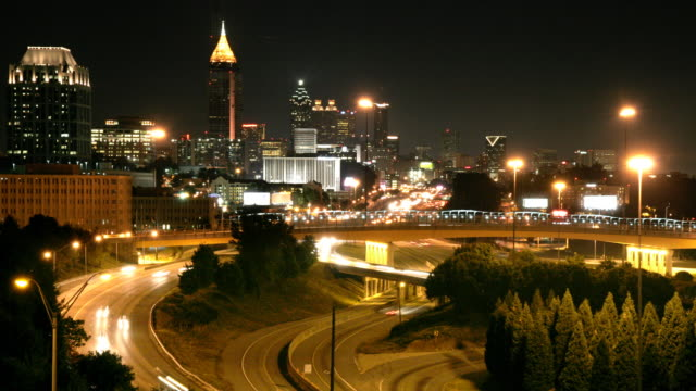 Atlanta Time-Lapse HD video
