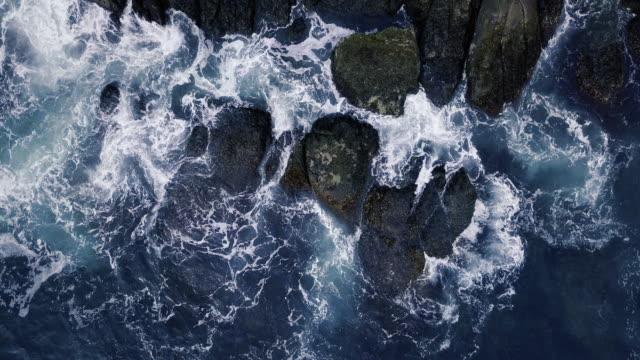 大西洋の海岸線 - 大西洋点の映像素材/bロール