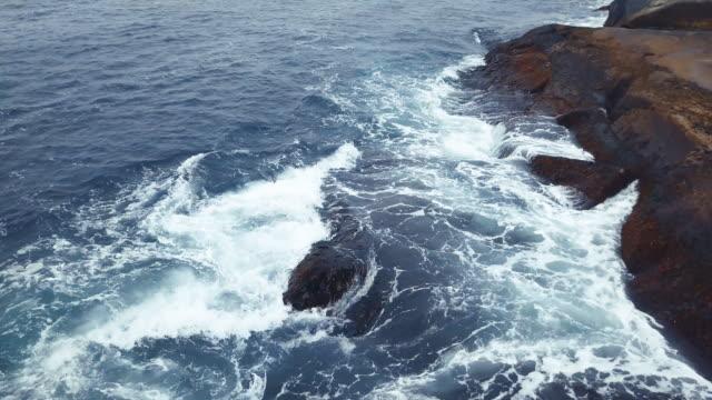 atlantic coastline - oceano atlantico video stock e b–roll