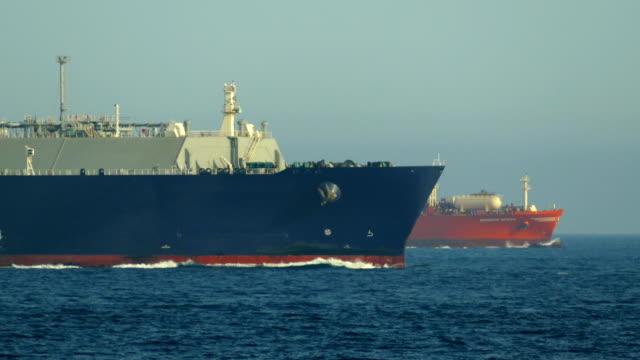 Bидео Atlantic ocean cargo ship race