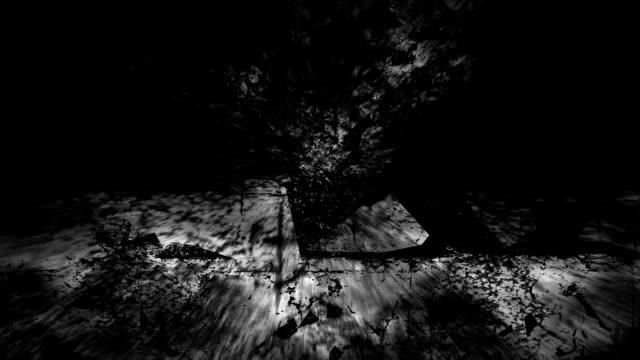 UNTAMED VIEW : atlantis - ruins, dark (LOOP) video