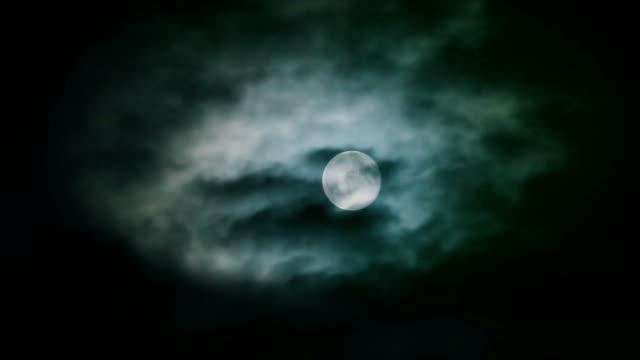atmospheric moon video
