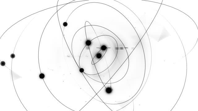atomära spin - fysik bildbanksvideor och videomaterial från bakom kulisserna