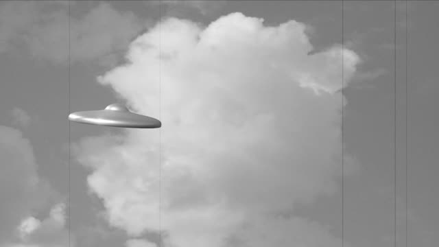 UFO attack old film
