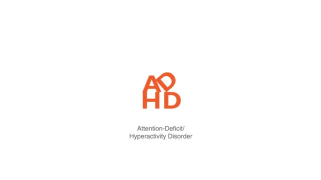 ADHD Attention Deficit Hyperactivity Disorder Wellnes theraphy Center in motion graphi