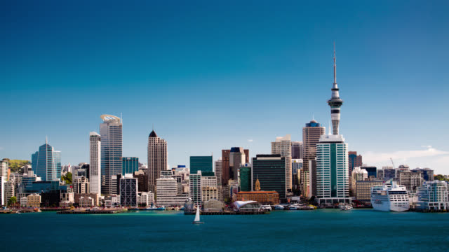 TIME LAPSE: Auckland City New Zealand video