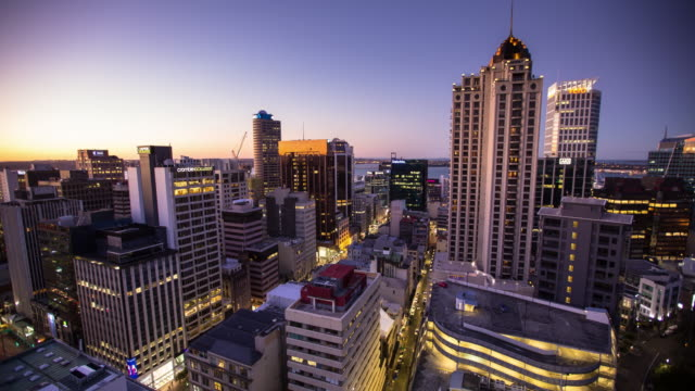 Auckland Evening - Time Lapse video