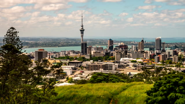 Auckland New Zealand Time Lapse video