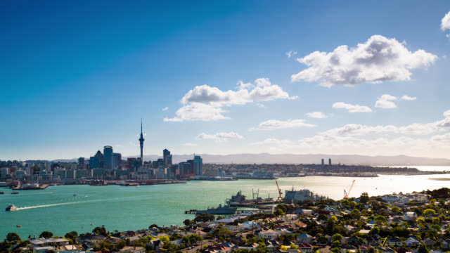 TIME LAPSE: Auckland New Zealand video