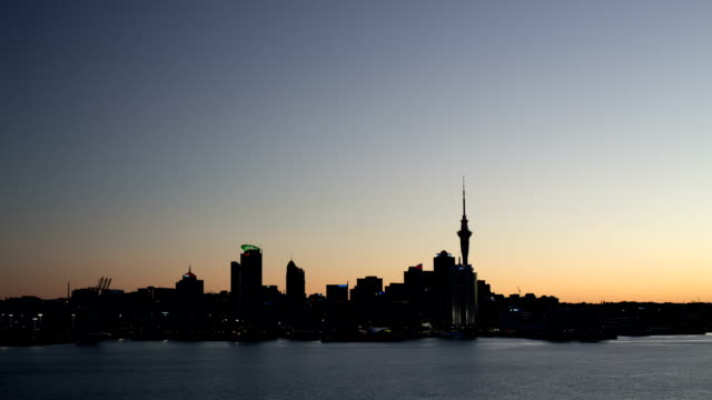 TIME LAPSE: Auckland Skyline Dusk to Night video