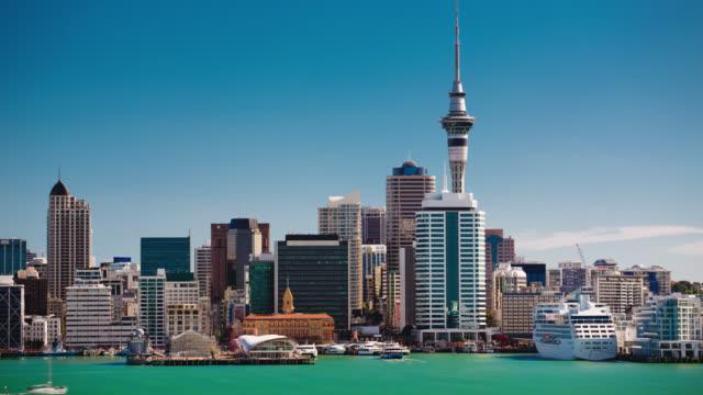 TIME LAPE: Auckland Skyline video