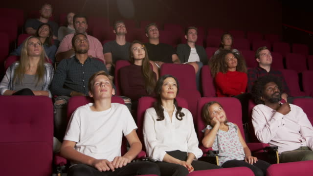 Audience In Cinema Watching Film Shot On R3D video