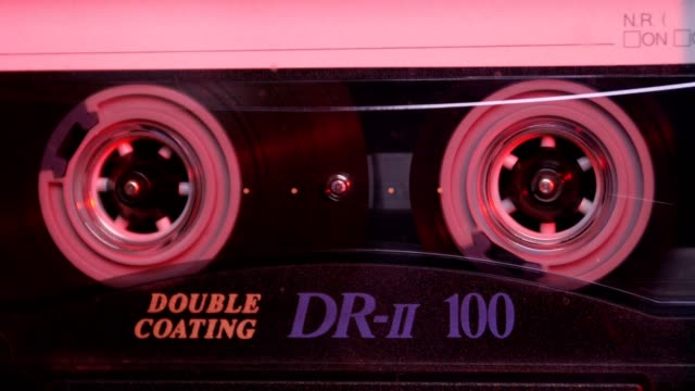 Audio Cassette in the Player. Close-up Audio Cassette in the Player. Close-up hip hop stock videos & royalty-free footage