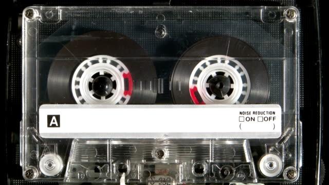 musicassetta riproduzione - cassetta video stock e b–roll