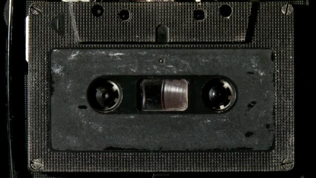 musicassetta riproduzione - cilindro video stock e b–roll