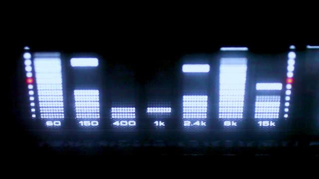 Audio EQ Liquid Crystal LED video