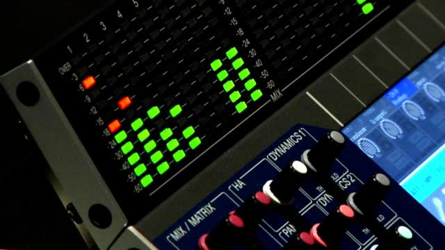 Audio Mixer Board video