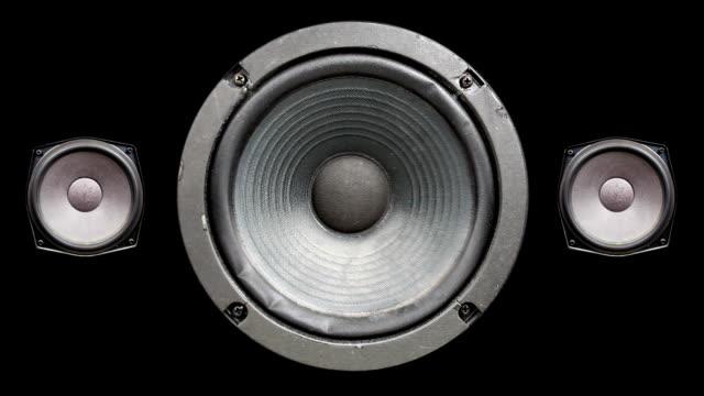 stockvideo's en b-roll-footage met audio speaker - luidspreker
