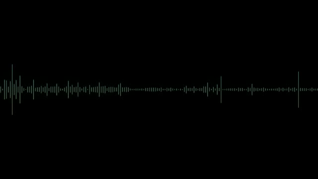 Audio spectrum wave Audio wave animation wave pattern stock videos & royalty-free footage