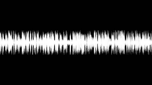vídeos y material grabado en eventos de stock de espectro de ondas de audio. - tabla medios visuales