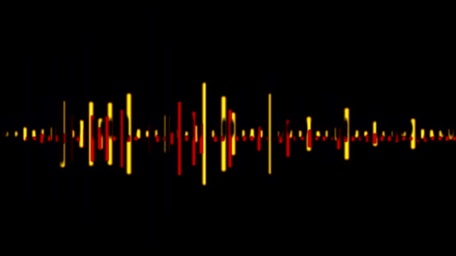 audio-wave - sound wave stock-videos und b-roll-filmmaterial