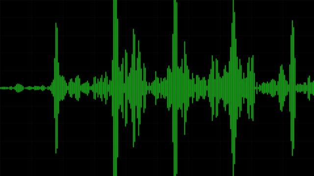 Audio Waveform / Spectrum video