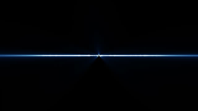 Audio Waveform (Blue Light Rays) video