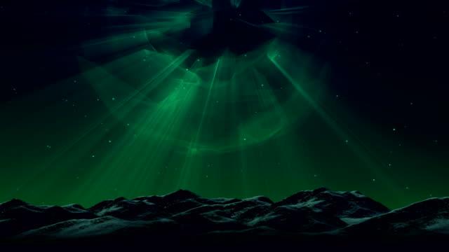 vídeos y material grabado en eventos de stock de aurora borealis fondo - estrella del norte
