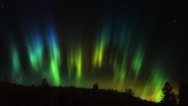 aurora borealis hd - realtid bildbanksvideor och videomaterial från bakom kulisserna