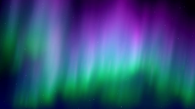 Aurora Borealis Motion Background