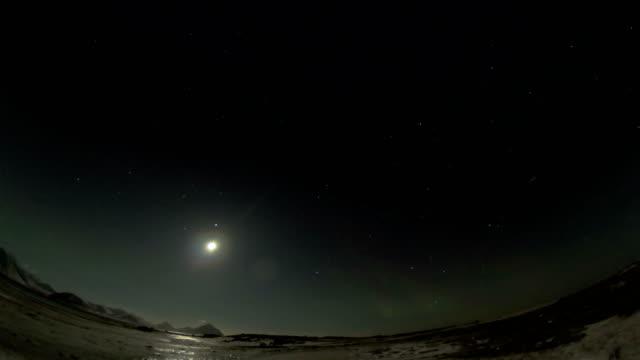4 K で北極のオーロラ ビデオ